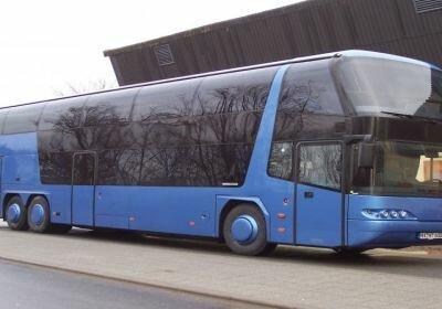 Автобуси Neoplan, Van hool, Setra, Bova, Scania, Volvo, MB